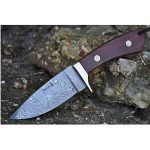 Perkin Knives: Custom Damascus Handmade Hunting Knife