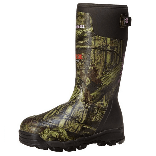 LaCrosse Womens Alphaburly Rubber Hunting Boots