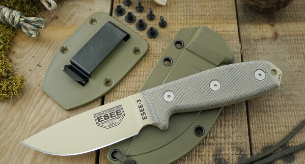 ESEE 3P Knife